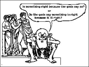 does morality depend on religion Rachels thinks morality depends on reason, not religion he thinks they are conceptually separate/independent although one can link them by seeing reason as a god-given power that allows us to understand what is right and wrong.